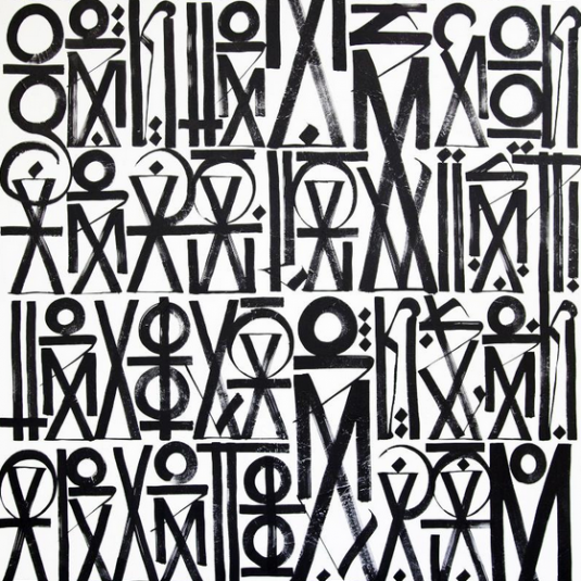 RETNA, GRAPHIC, PAINTINGS BY RETNA, GRAFFITI