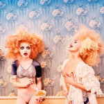DAVIDLACHAPELLE, LACHAPELLE, FASHION, LACHAPELLE PHOTOGRAPHY, Milk Maidens by David LaChapelle