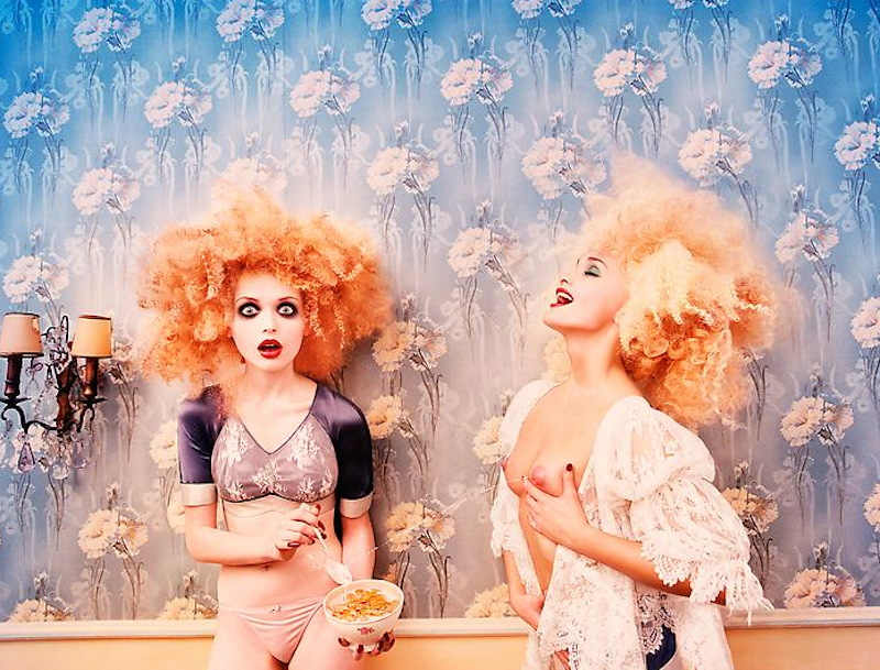 Milk Maidens by David LaChapelle