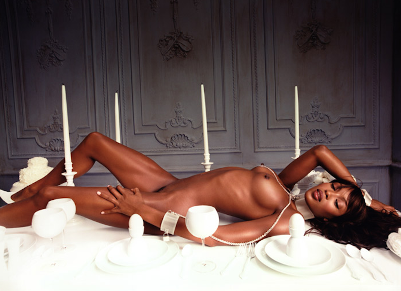 Bon Apetite Naomi Campbell by David LaChapelle
