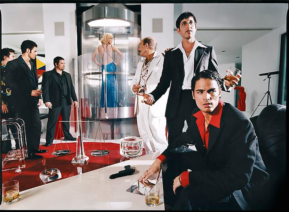 Lies Scarface by David Lachapelle