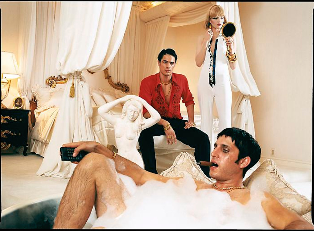 Money and Power, Scarface by David LacHapelle