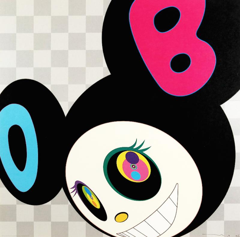 And then Black by Takashi Murakami