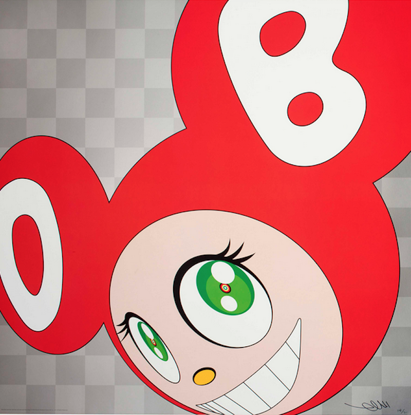 And then Red by Takashi Murakami