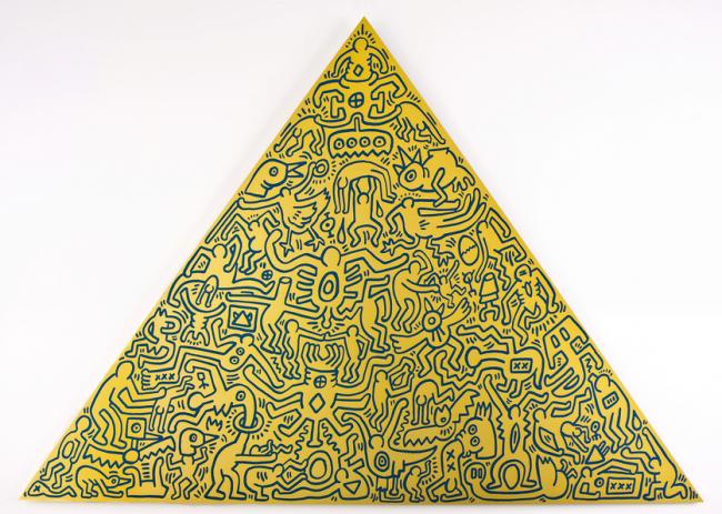 Keith Haring, Haring, pop, pop art