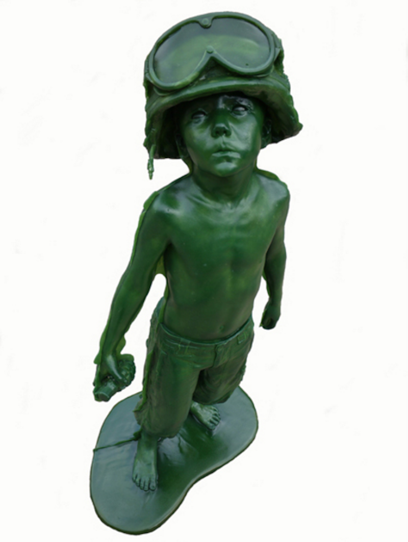 Boy Soldier Green by Schoony