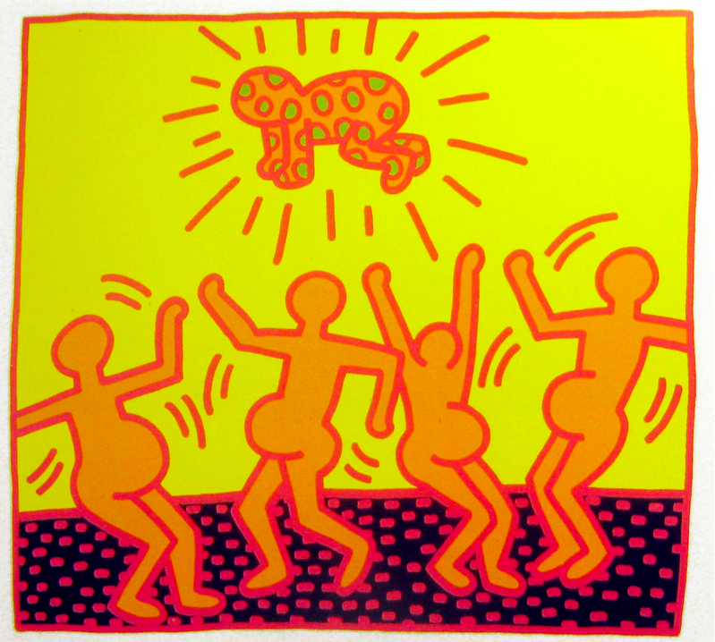 Keith Haring Fertility 1