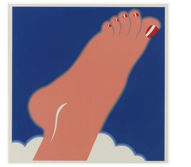 Seascape Foot by Tom Wesselmann