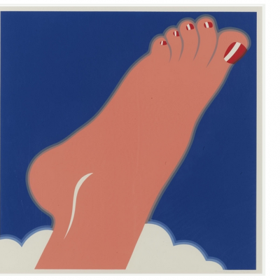 tomwesselmann, wesselmann, Seascape (Foot) by Tom Wesselmann
