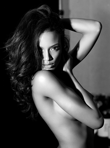 Selita Backstage by Russell James