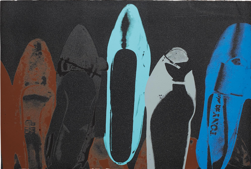 Diamond Dust Shoes By Andy Warhol Guy Hepner