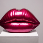 niclas castello, the kiss, niclas castello lips, neo, commercial, sculpture