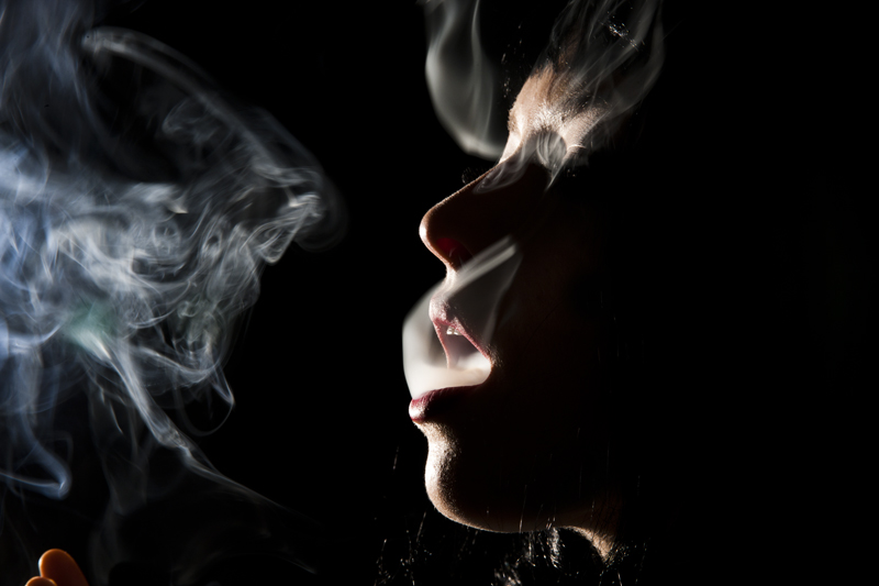 Smoke by Tyler Shields