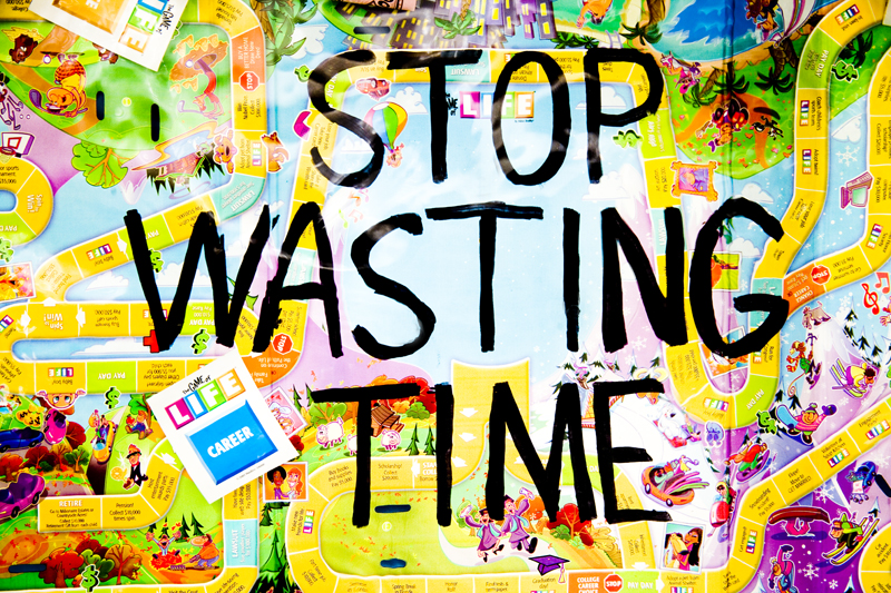 Stop Wasting Time by Tyler Shields