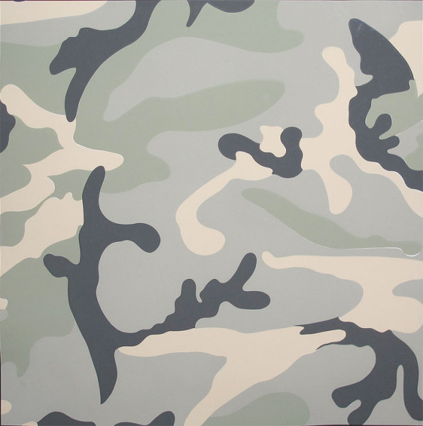 camo tp grey by andy warhol guy hepner. Black Bedroom Furniture Sets. Home Design Ideas