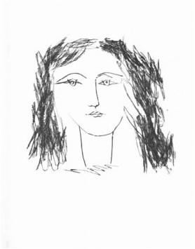 Tete de Femme de Face