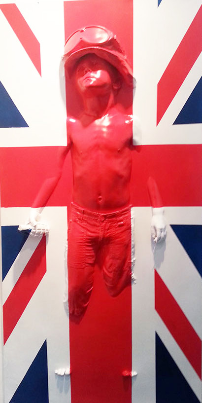 Boy Soldier (Union Jack) Panel by Schoony