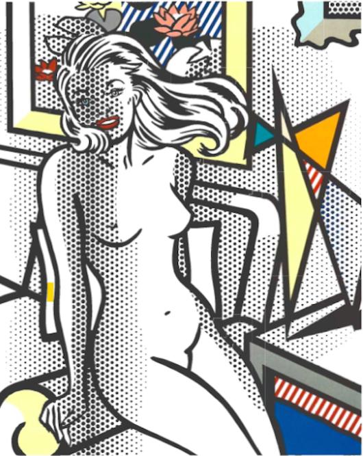 Roy Lichtenstein Nude