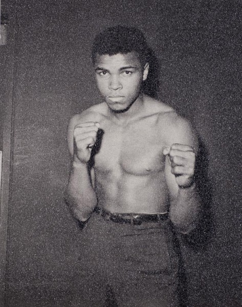 Young Muhammad Ali by Russell Young