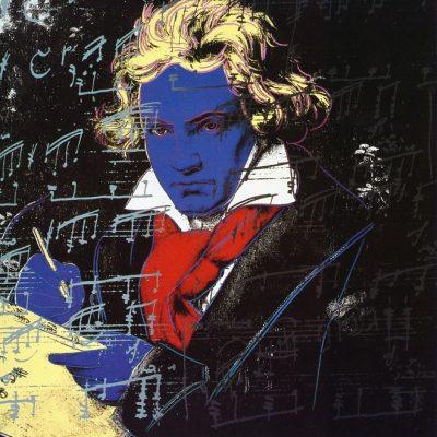 andywarhol, warhol, pop, Beethoven by Andy Warhol