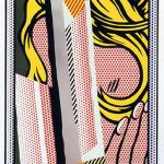 roy lichtenstein, pop art, reflections,Reflections on Hair by Roy Lichtenstein