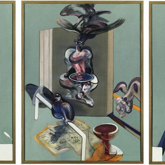 francis bacon, modern art, francis bacon tryptich