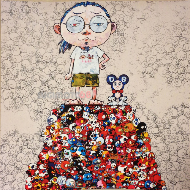 DOB & Me (Round Mound) by Takashi Murakami
