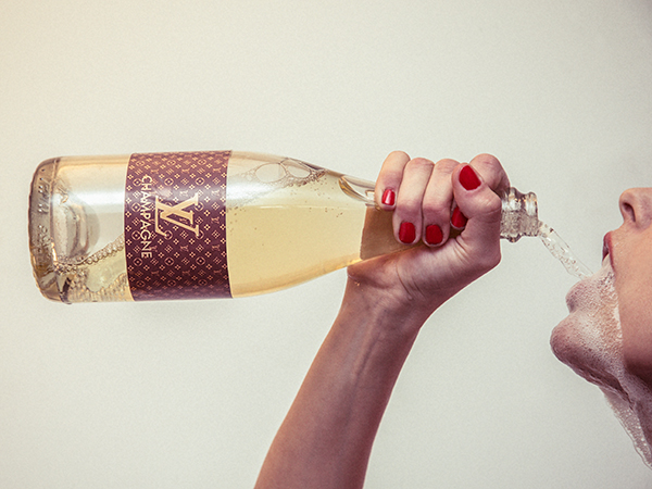 aaded311c01 LV Champagne by Tyler Shields - Guy Hepner