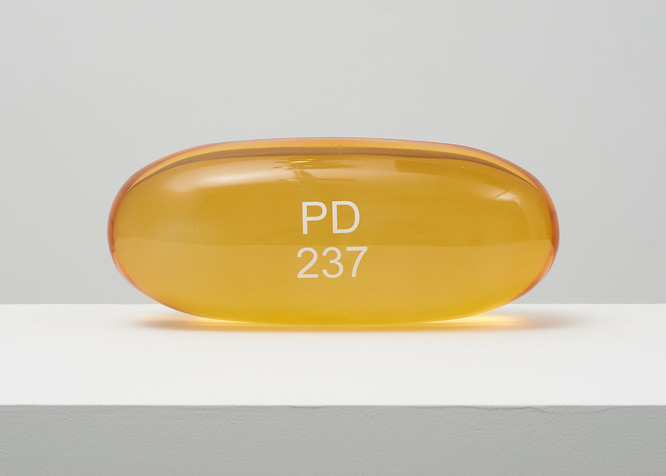 Zarontin PD 237 by Damien Hirst