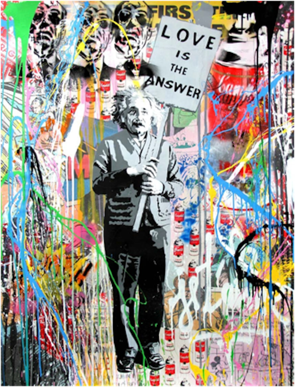 Einstein by Mr.Brainwash
