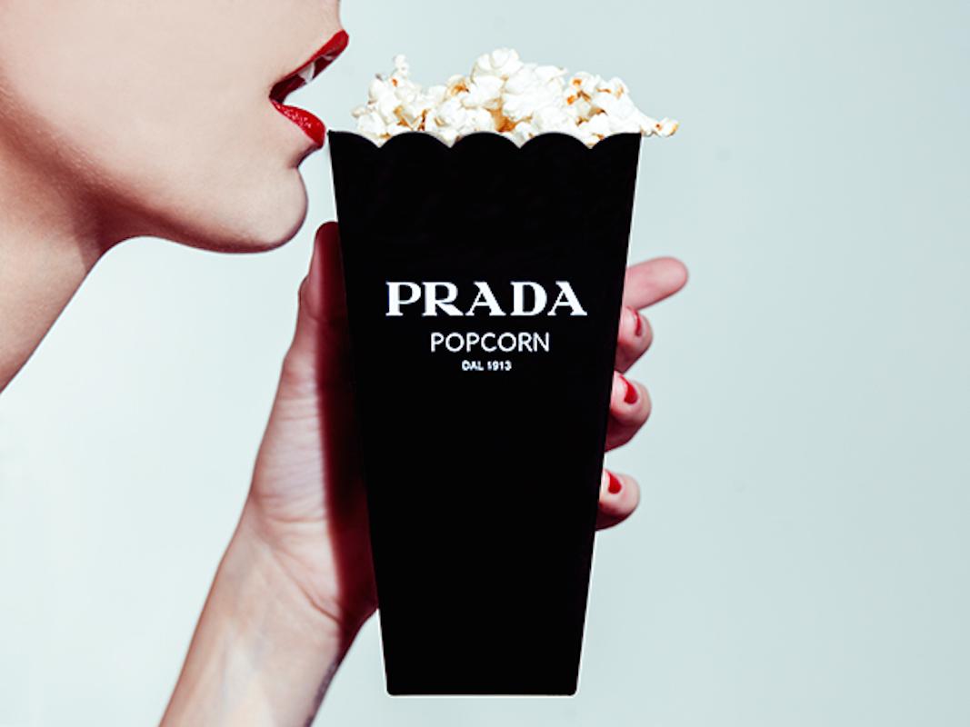Prada Popcorn by Tyler Shields