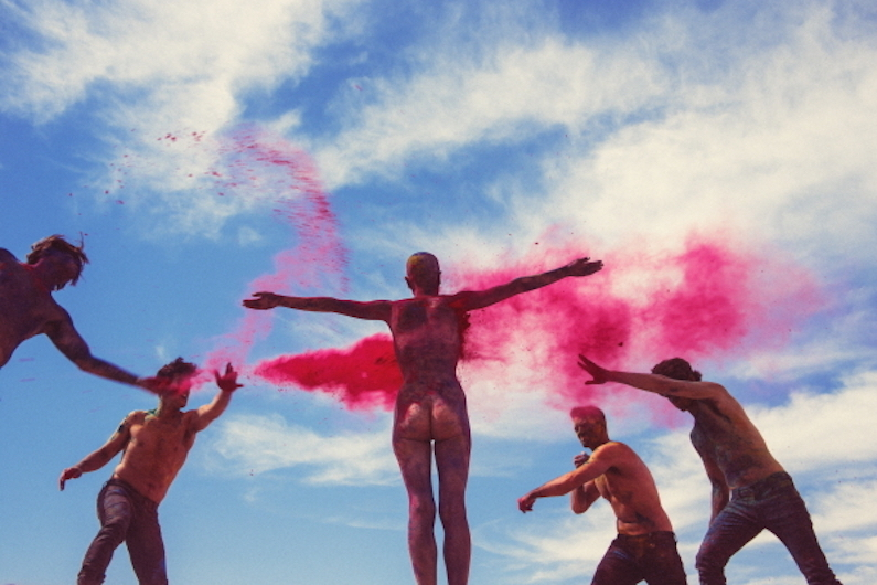 The Science of Color Chaos by Tyler Shields