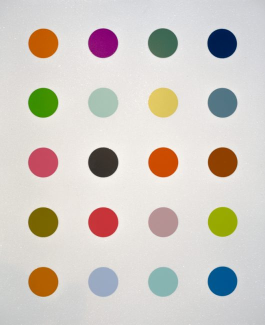 damienhirst, neo, pop, spot series by hirst