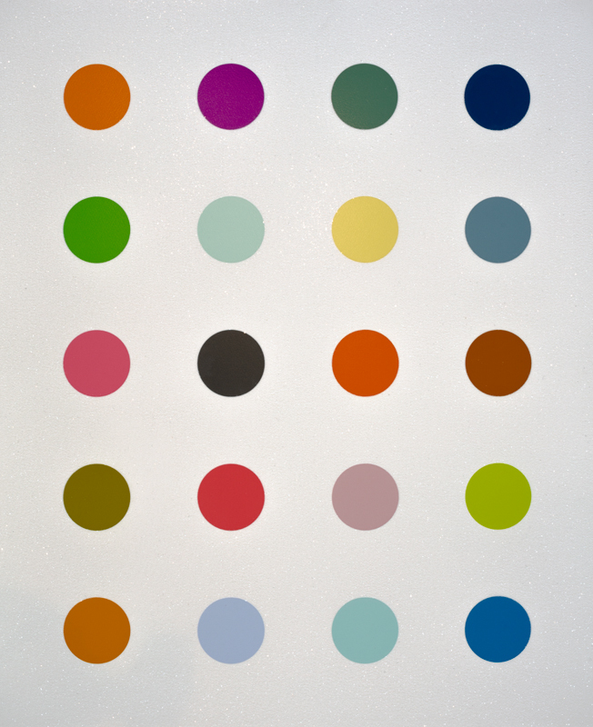 3 Methylthymidine by Damien Hirst