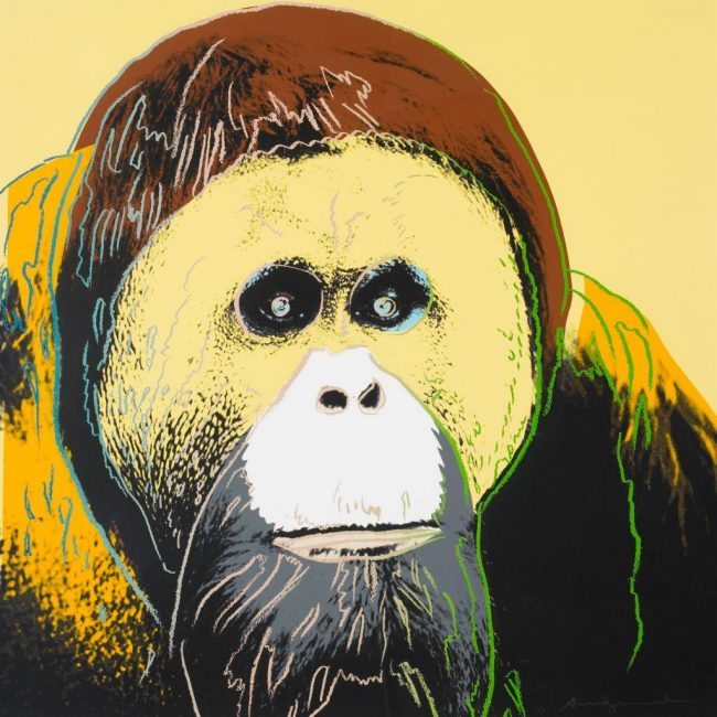 Andy Warhol Endangered Species, Andy Warhol Endangered Species