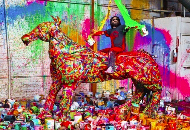 Mr. Brainwash 9 by Gavin Bond