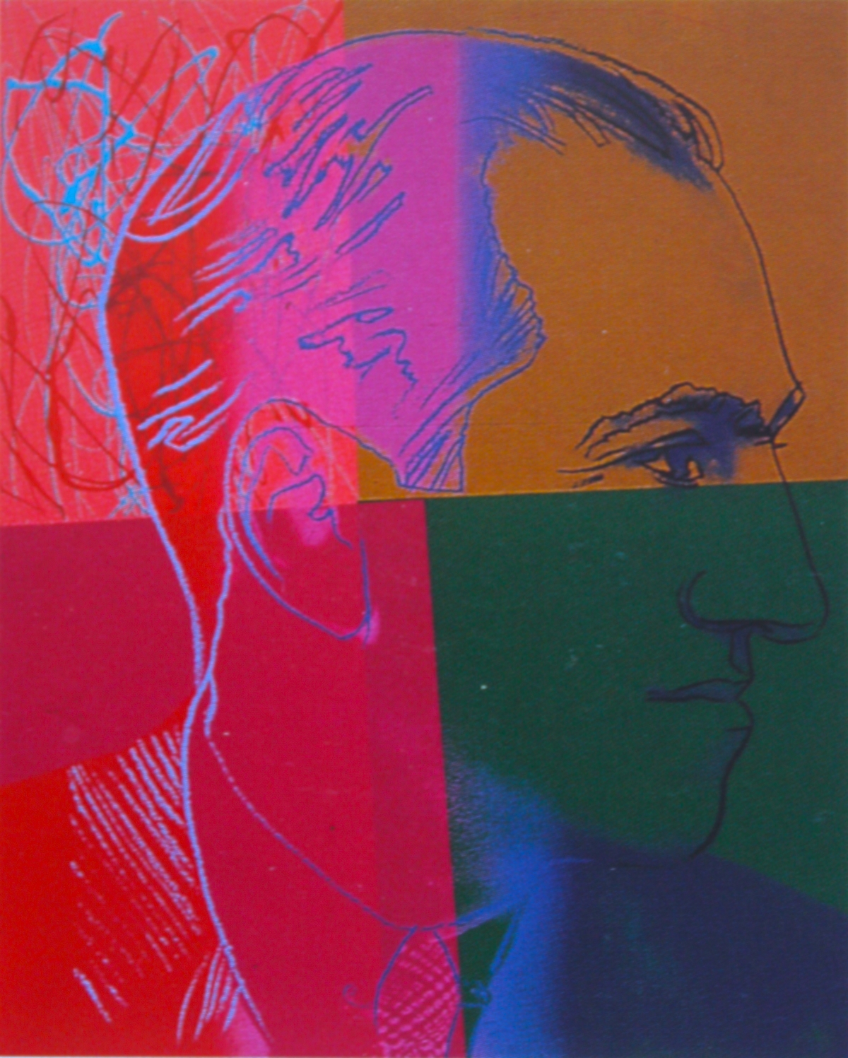 George Gershwin by Warhol