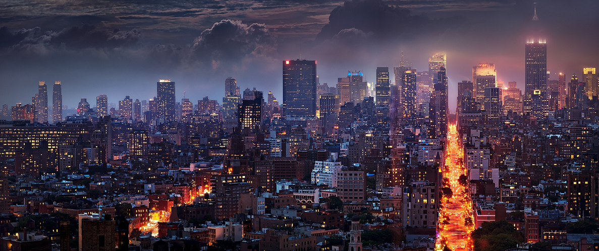 Blazing City by David Drebin
