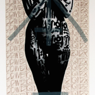 retna, graphic, urban, Brimstone X by Retna