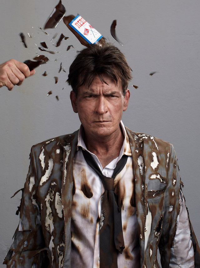 Charlie Sheen 5 by Gavin Bond