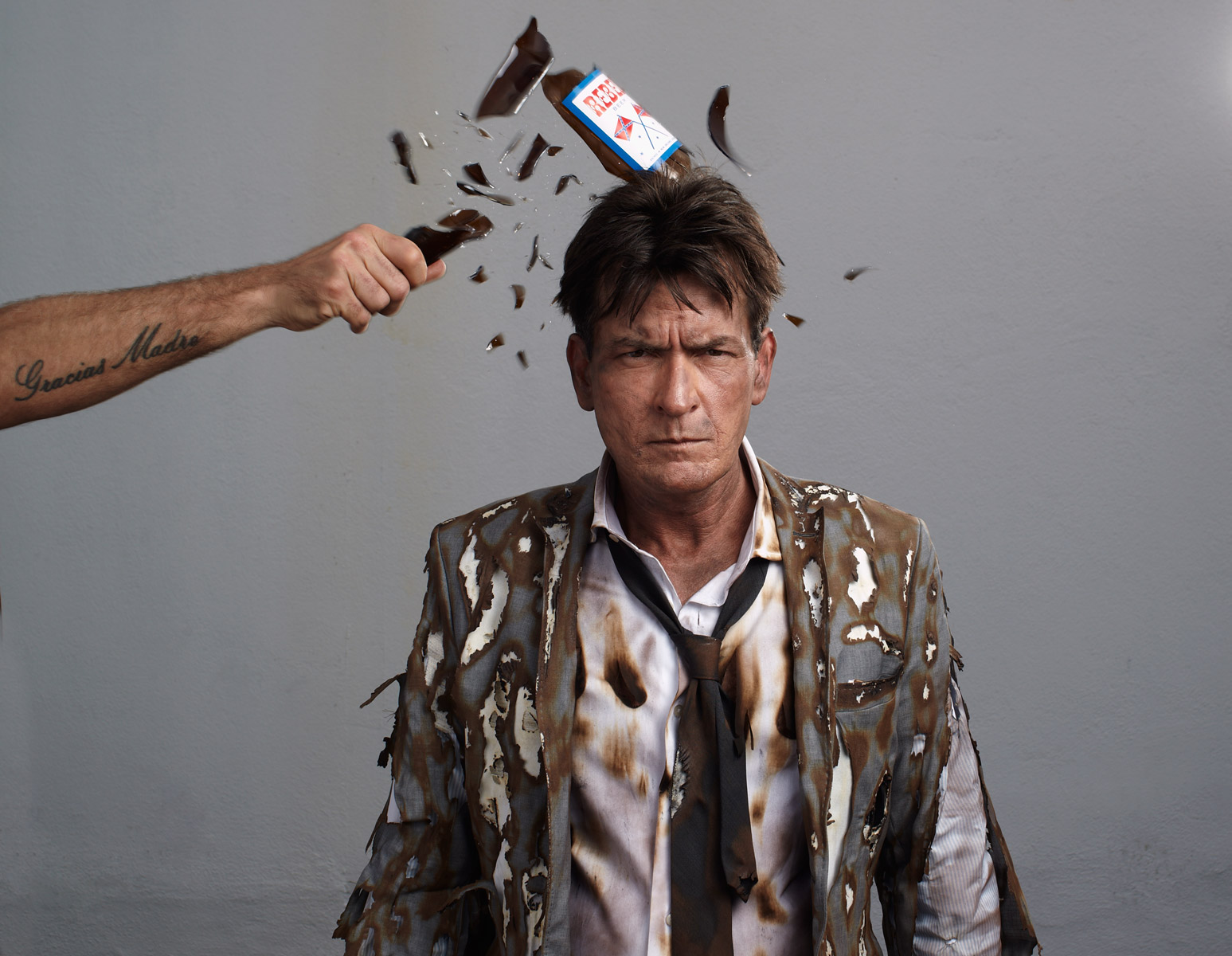 7 Charlie Sheen by Gavin Bond
