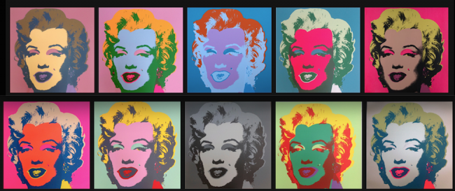 Legendary Andy Warhol at Guy Hepner, Legendary Andy Warhol at Guy Hepner