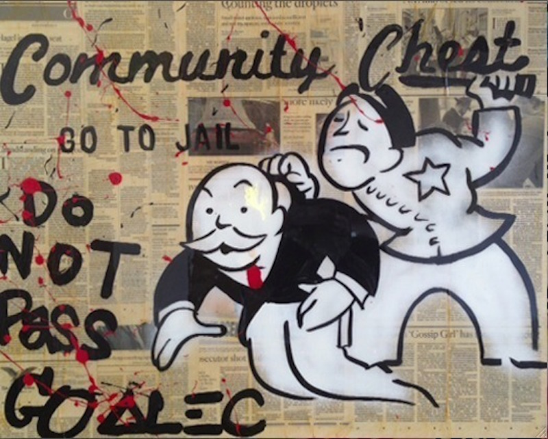 Community Chest by Alec Monopoly