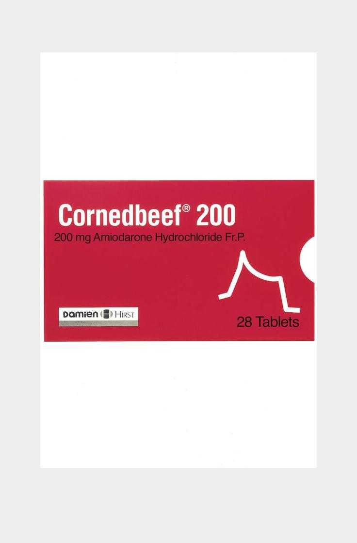 Cornedbeef by Damien Hirst