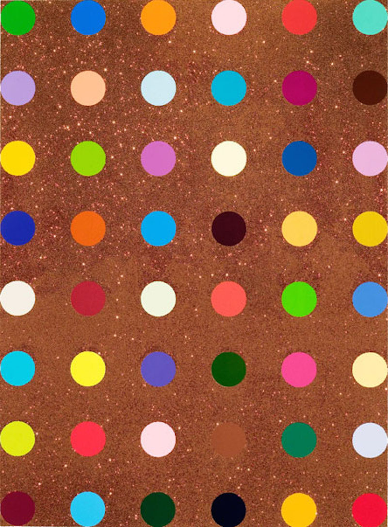 Carvacrol by Damien Hirst