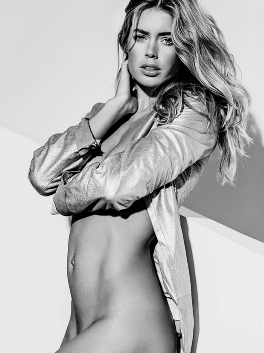 Doutzen Gold Jacket by Russell James