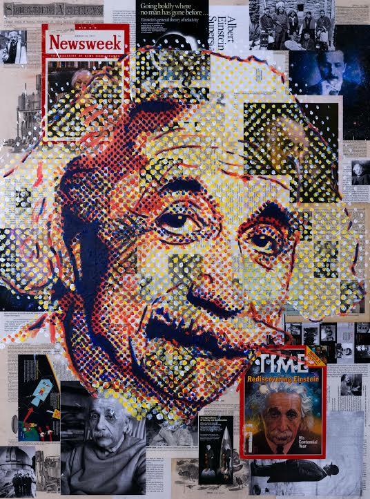 Einstein by Gillean Clark