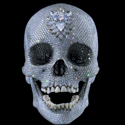 Hirst, Damienhirst, pop, neo, skulls by hirst