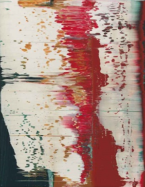 gerhardrichter,richter, modern, paintings, Fuji by Gerhard Richter