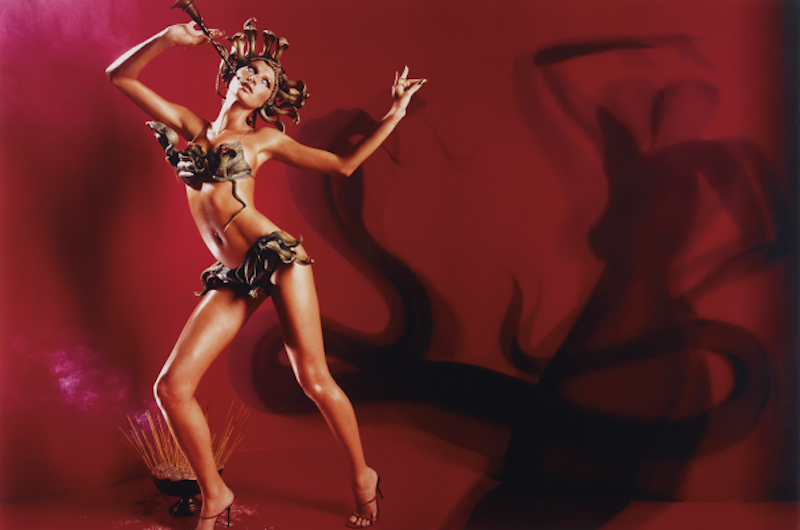 Gisele Snake Charmer by David LaChapelle